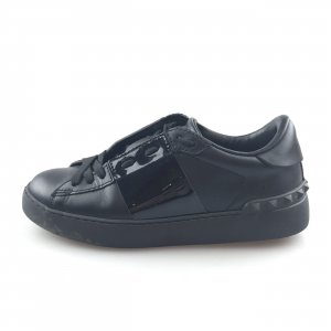 Valentino Leather Untitled Open Sneaker