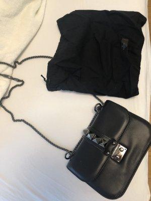 Valentino Lock Noir Small