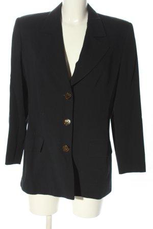 Valentino Long-Blazer schwarz Casual-Look