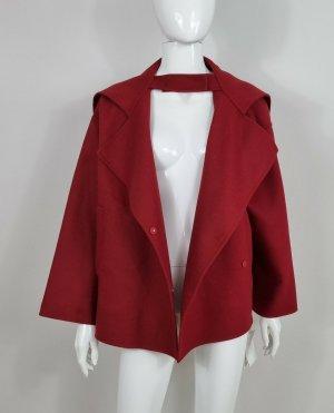 Valentino Cappotto corto rosso Lana d'angora