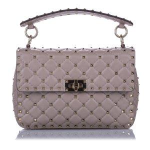 Valentino Satchel light pink leather