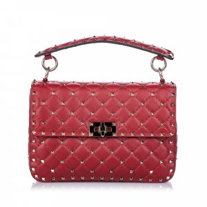 Valentino Satchel red leather