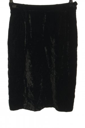 Valentino Midirock schwarz Glanz-Optik