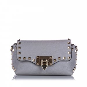 Valentino Mini Rockstud Leather Crossbody Bag