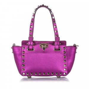 Valentino Satchel pink leather