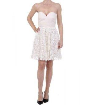Valentino Minikleid creme Elegant