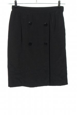 Valentino Minirock schwarz Casual-Look