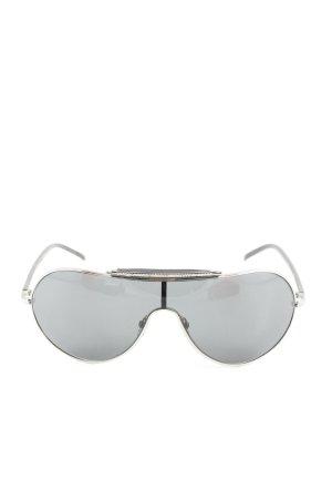 Valentino Gafas de piloto gris claro look casual