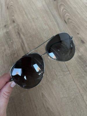 Valentino Gafas de piloto gris antracita-negro