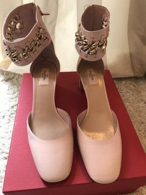 Valentino Pumps rosa Leder Neu