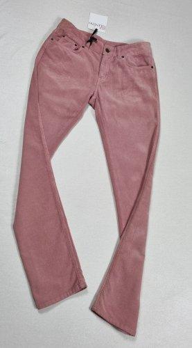 Valentino RED Pantalon boyfriend rosé coton