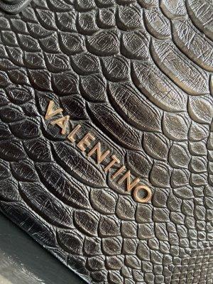 Valentino Red Tasche Reptil Muster schwarz