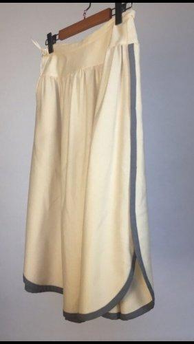 Valentino Maxi Skirt cream-light grey