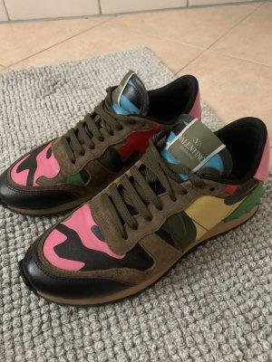 Valentino Rockrunner Camouflage Sneaker