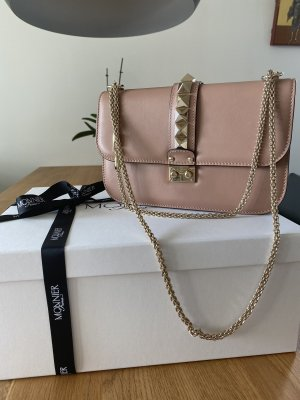 VALENTINO Rockstud Glamlook Medium in Farbe Poudré