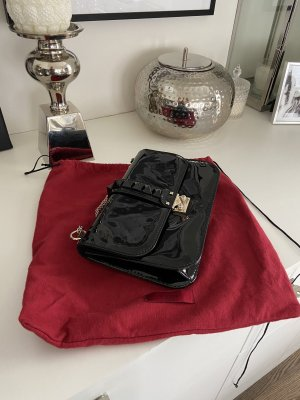 Valentino Rockstud Lack Tasche schwarz Rechnung