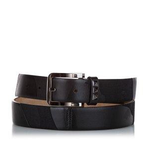 Valentino Belt black leather