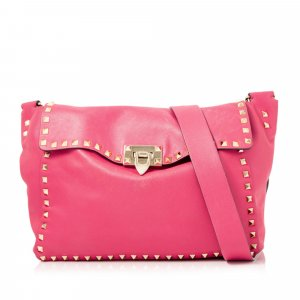 Valentino Rockstud Leather Crossbody Bag