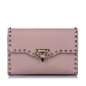Valentino Rockstud Leather Flap Bag