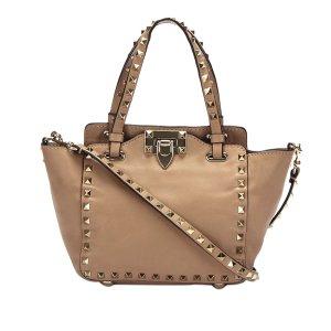 Valentino Satchel beige leather