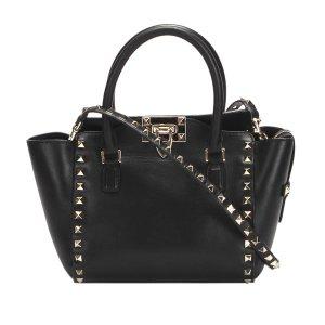 Valentino Rockstud Leather Satchel