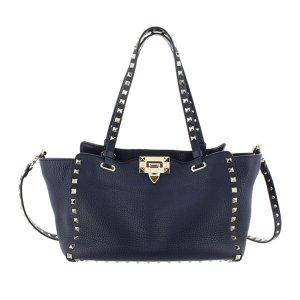 Valentino Satchel blue leather