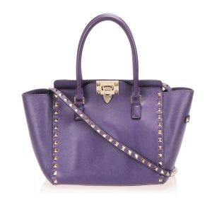 Valentino Sacoche violet cuir