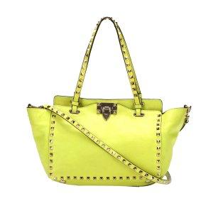 Valentino Satchel yellow leather