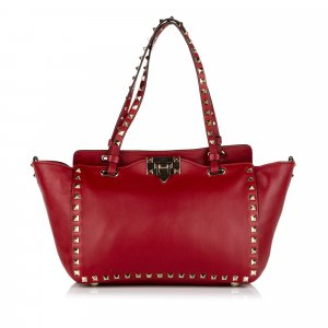 Valentino Tote red leather