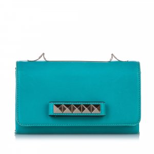 Valentino Rockstud Va Va Voom Leather Shoulder Bag
