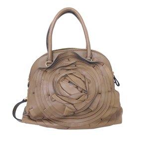 Valentino Satchel light brown leather