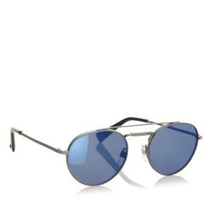 Valentino Gafas de sol azul oscuro metal