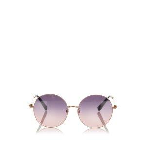 Valentino Gafas de sol púrpura metal