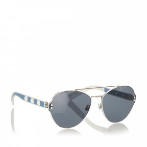 Valentino Gafas de sol negro metal