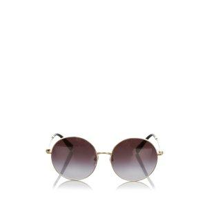 Valentino Round Tinted Sunglasses