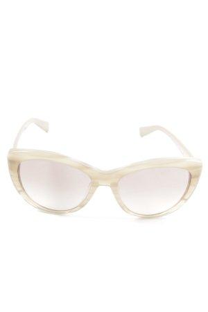 Valentino runde Sonnenbrille Farbverlauf Business-Look