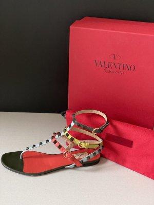 Valentino Garavani Dianette sandalen veelkleurig Leer