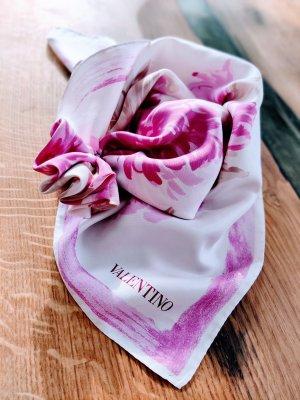 Valentino Écharpe en soie multicolore