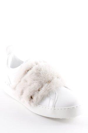 """Valentino Schlüpfsneaker """"Sneaker Mink Fur Bianco/Rosa"""" weiß"""