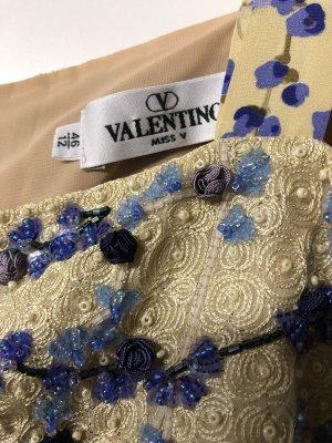 VALENTINO Seidenkleid mit Paillettenstickerei