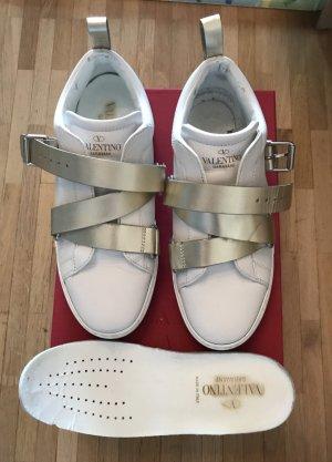 Valentino Zapatillas con hook-and-loop fastener blanco