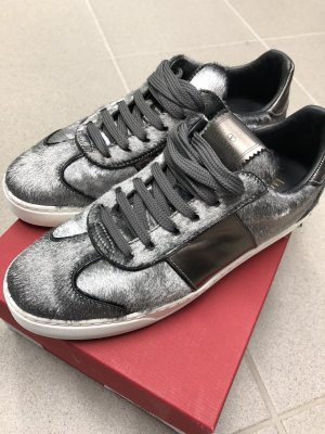 Valentino Sneaker grau Ponyfell Gr. 38