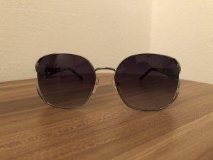 Valentino Gafas de sol ovaladas gris oscuro