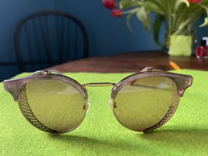 Valentino Retro Glasses multicolored metal