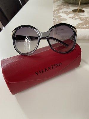 Valentino Garavani Lunettes de soleil rondes multicolore