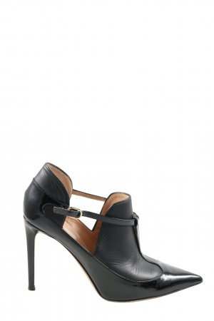 Valentino Cut Out Booties black business style