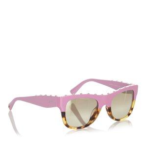 Valentino Square Mirror Sunglasses