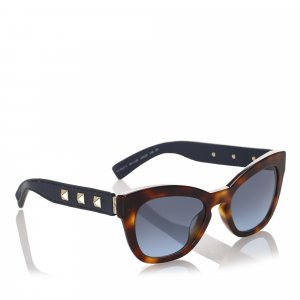 Valentino Square Tinted Sunglasses