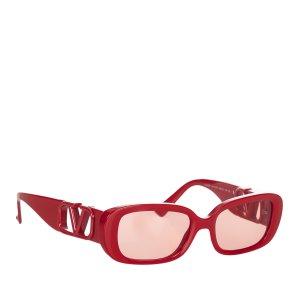 Valentino Gafas de sol rojo