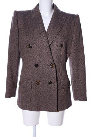 Valentino Tweedblazer braun Business-Look